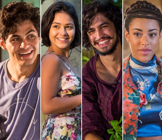 Relembre no vídeo a história de Lucas, Olívia, Miguel e Sophie (Foto: TV Globo/ Gshow)