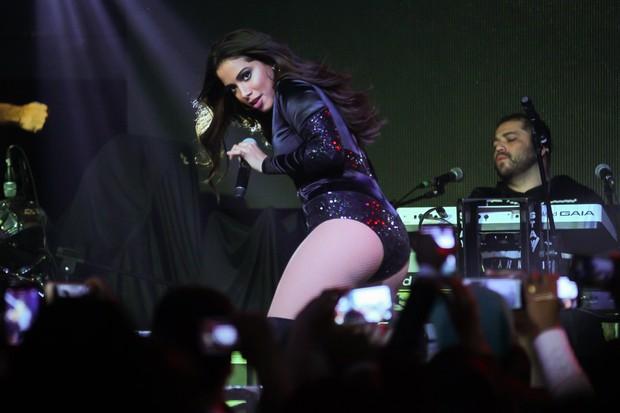 Anitta dança em show (Foto: Manuela Scarpa/ Brazil News)