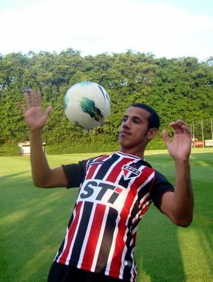 Lucas Evangelista - São Paulo (Foto: Site Oficial / saopaulofc.net)