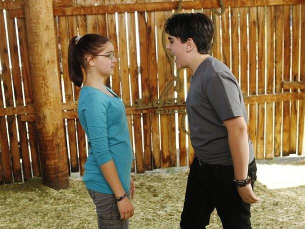 Ariel Winter e Matthew Gumley como Alex e Jimmy em 'Modern Family' (Foto: Reprodução)