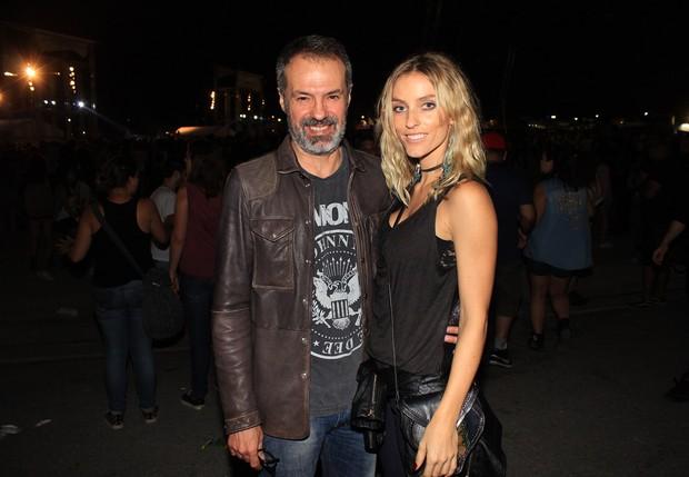 Ricardo Waddington e a namorada, Marina Sanvicente (Foto: Celso Tavares/Ego)