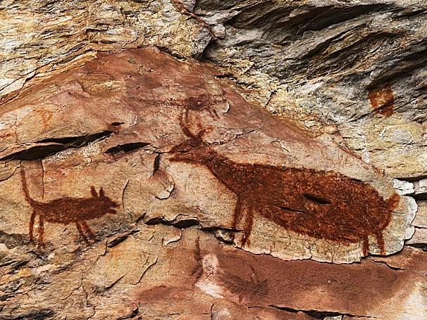 Pintura nas cavernas mostram o cotidiano do homem pré-histórico (Foto: Thinkstock/Getty Images)