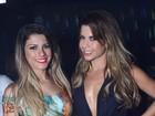 Babi Rossi, Cacau e Denise Rocha sensualizam em festa no Rio