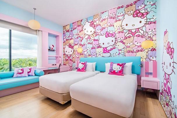 Quarto da Hello Kitty (Foto: Divulgação)