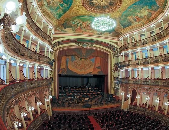 Teatro Amazonas (Foto: Stefan Kolumban/ Pulsar)