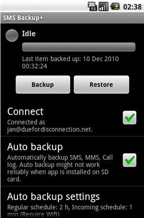 SMS Backup +