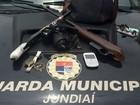 Menor suspeito de roubar casas é apreendido com armas em Jundiaí