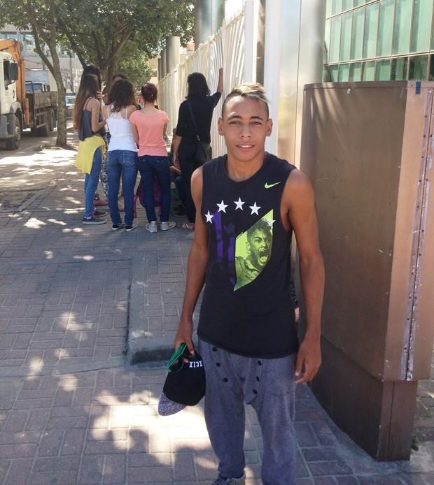 Fã do Neymar (Foto: Anderson Dezan/EGO)