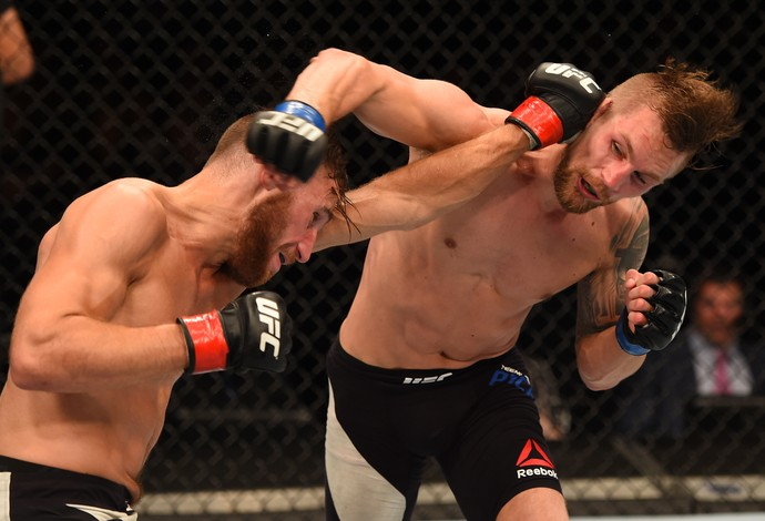 Mickael Lebout Teemu Packalen UFC (Foto: Getty Images)