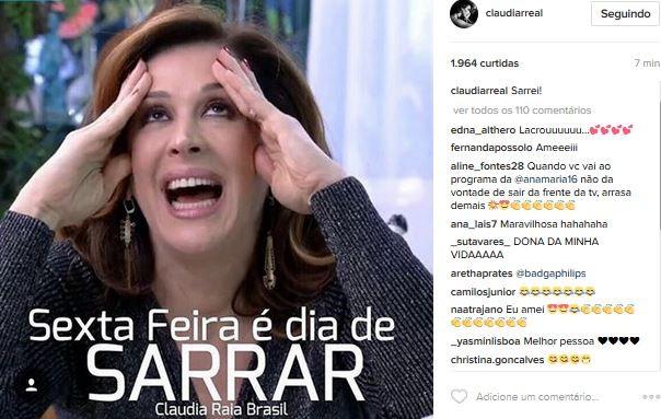 Claudia Raia (Foto: Instagram / Reprodução)