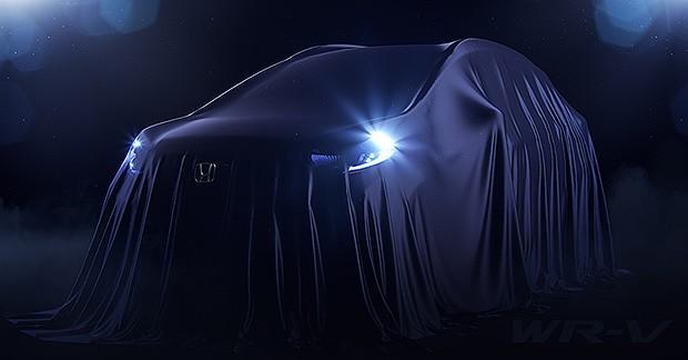 Teaser do novo Honda WR-V (Foto: Honda)
