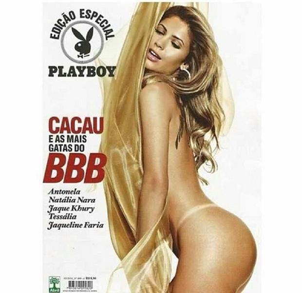 Cacau Colucci Estrela Sua Seta Capa Da Playboy