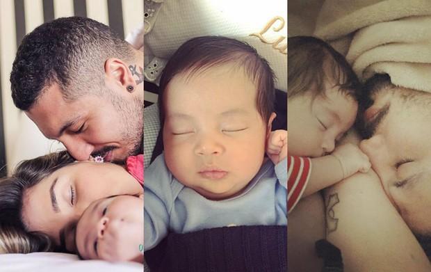 EGO separou 10 fotos fofas de Lucca, filho dos ex-BBBs Aline e Fernando (Foto: Reprodução / Instagram)