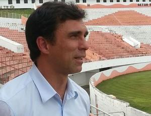 Luisinho Quintanilha, técnico do Rio Branco-SP (Foto: Gustavo Antoniassi / Rio Branco-SP)