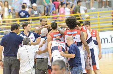Franca Basquete no NBB (Foto: Newton Nogueira / LNB)