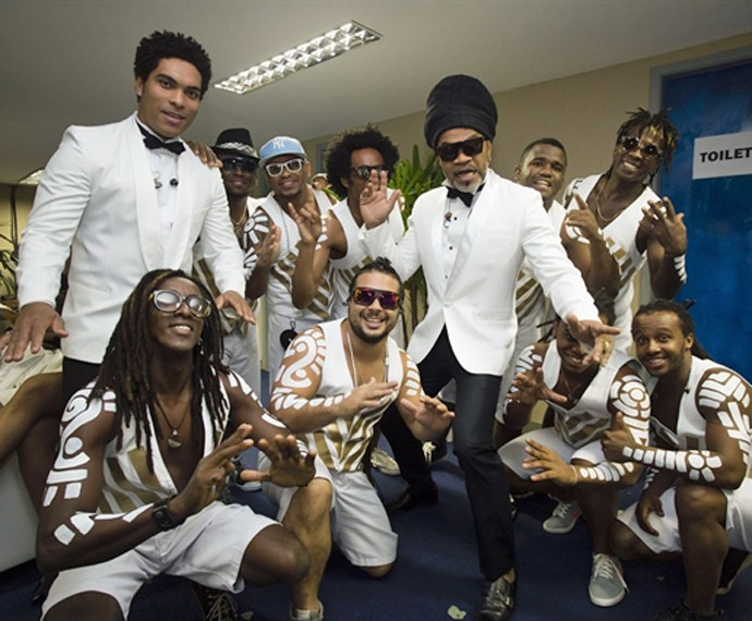 Brown diz que grupo está preparando um novo álbum para o Carnaval  (Foto: Alex Carvalho/Gshow)