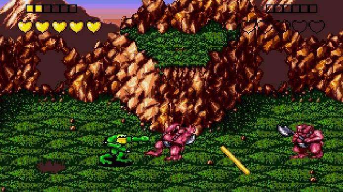 Battletoads era popular nas locadoras para o NES e Mega Drive mas todos sabiam de sua alta dificuldade (Foto: Reprodução/Digital Trends)