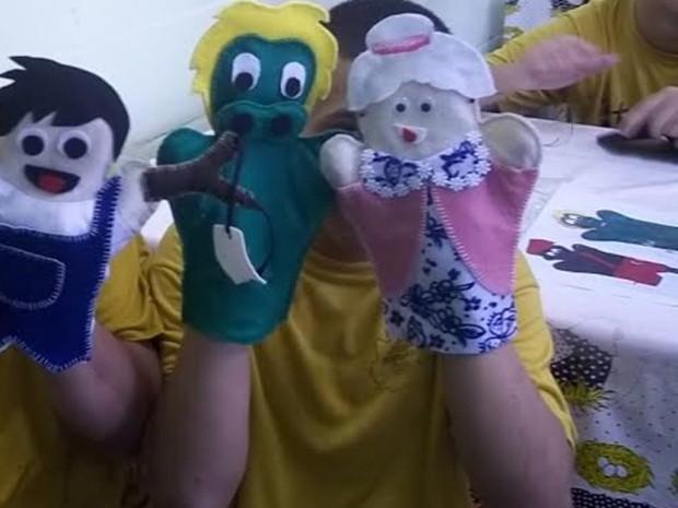 Adolescentes da Fundação Casa de Itapetininga vão fazer teatro de fantoches em abrigo (Foto: Divulgação/Fundação Casa)