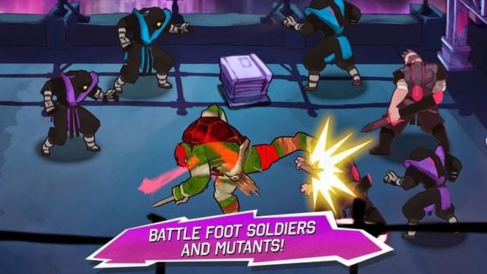 Novo jogo das Tartarugas Ninja para iPhone, iPod Touch e iPad (Foto: Divulgação)