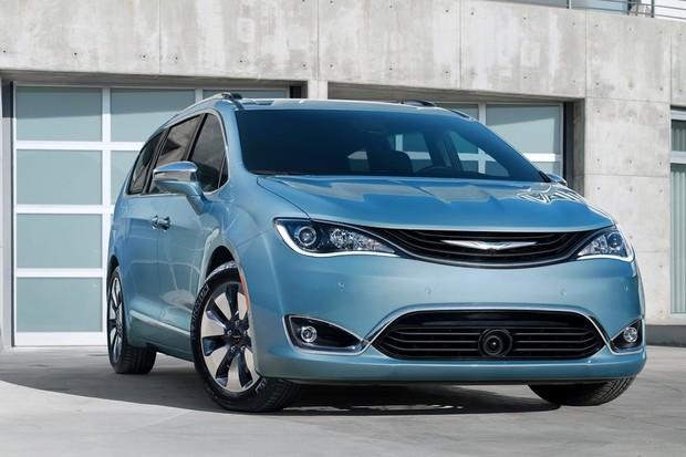 Chrysler Pacifica 2017 (Foto: Divulgação)