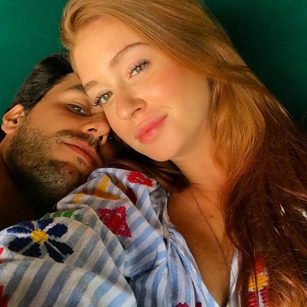 Xandinho Negrão e Marina Ruy Barbosa (Foto: Instagram/Reprodução)