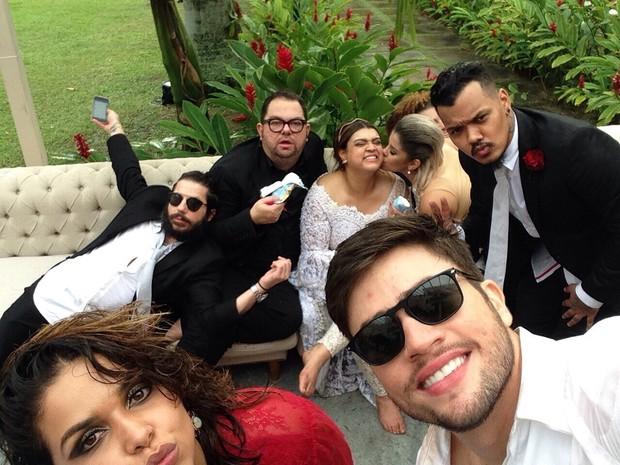 Festa de casamento de Preta Gil e Rodrigo Godoy em Santa Teresa, no Centro do Rio (Foto: Instagram/ Reprodução)