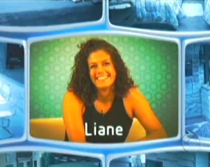 Liane na vinheta do BBB7 (Foto: TV Globo)
