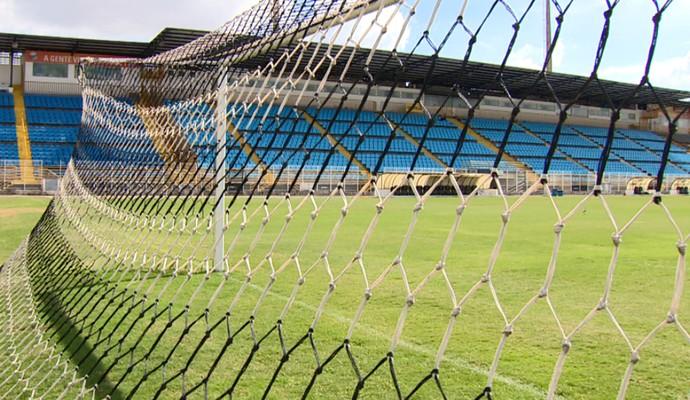 Estádio Barão da Serra Negra, em Piracicaba (Foto: Márcio de Campos / EPTV)