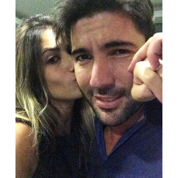 Jessica Costa e Sandro Pedroso (Foto: Reprodução/Instagram)