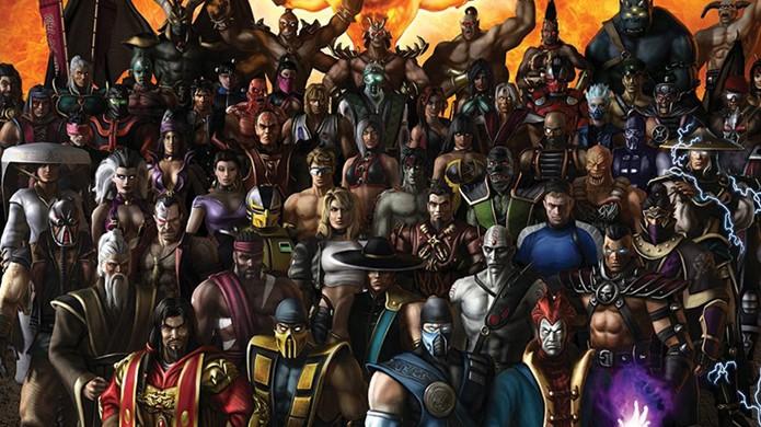 Elenco de personagens de Mortal Kombat X poderá ter personagens retornando de Mortal Kombat 9 (Foto: Reprodução/Games Radar)