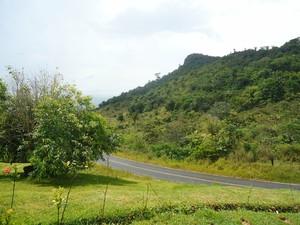 Serra do Tepequém, em Amajarí (RR) (Foto: Valéria Oliveira/G1)