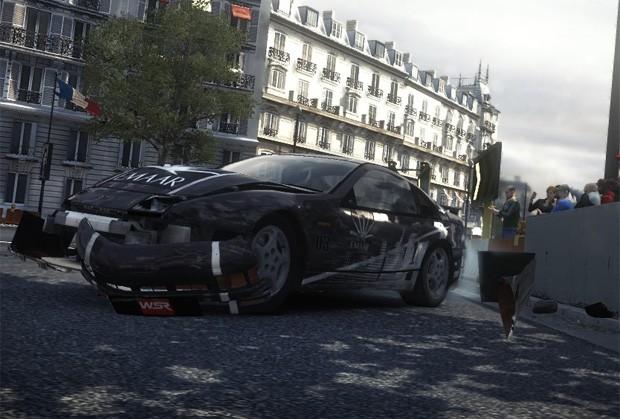 Após algumas colisões, os danos acumulados influenciam no desempenho e na estética do veículo (Foto: Cauê Fabiano/G1)