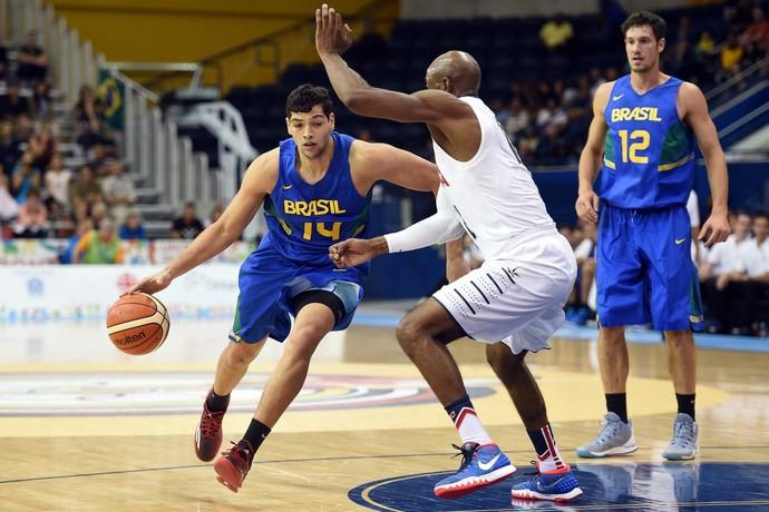 Pan de Toronto basquete Brasil x Estados Unidos Léo Meindl (Foto  Gaspar  Nobrega  03270a99b3736
