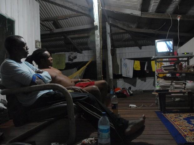Moradores de Conceição do Maracá utilizam energia solar (Foto: Gabriel Penha/G1)