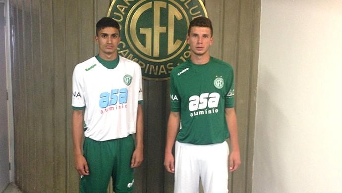 Guarani apresenta uniforme da nova fornecedora na Copa São Paulo ... 1b746c694feed