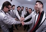 Big Time Orchestra mostra ritual que faz antes dos shows (Foto: Reprodução/RPC)