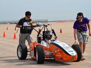 Veículo elétrico desenvolvido por alunos da Unicamp chega a 170km/h (Foto: Divulgação/Unicamp E-Racing)