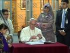 Em Daca, Papa agradece a Bangladesh por acolher rohingyas