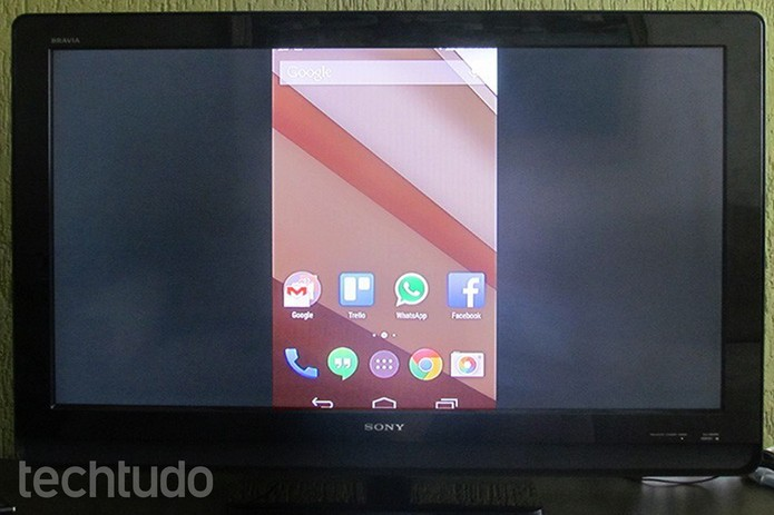 Espelhe a tela do Android na TV com Chromecast (Foto: Paulo Alves/TechTudo)
