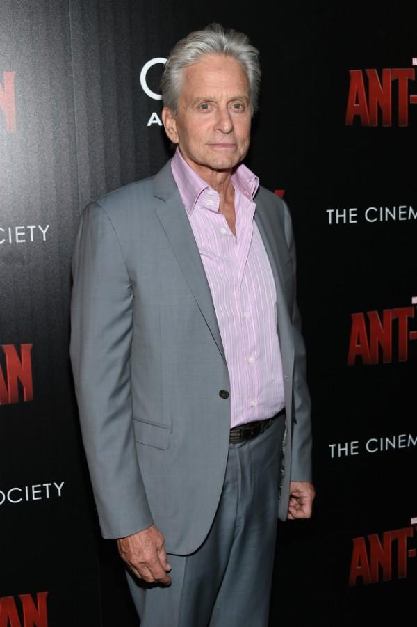 Hoje o ator Michael Douglas está livre das drogas (Foto: Getty Images)