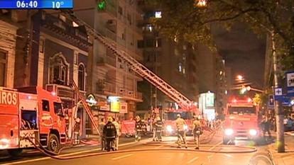 Se iniciam nesta segunda-feira as investigações sobre causas de incêndio na boate Cabaret