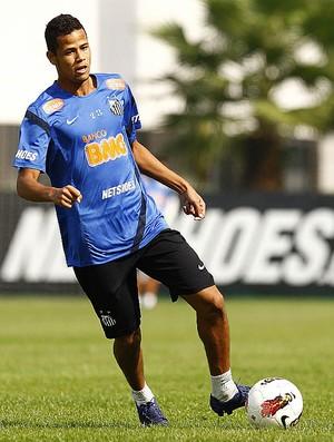 geuvanio treino santos (Foto: Ricardo Saibun/Divulgação Santos FC)