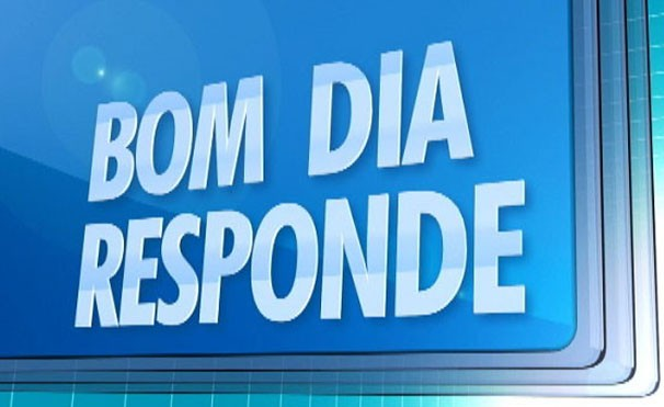 Quadro Bom Dia Responde (Foto: Reprodução/BDS)