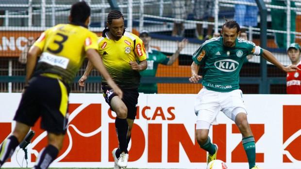 Barcos Palmeiras x São Bernardo (Foto: Luis Moura / Ag. Estado)