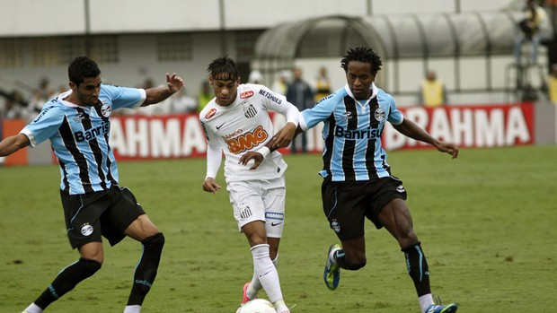 ze roberto neymar santos x grêmio (Foto: Mauricio de Souza/Agência Estado)