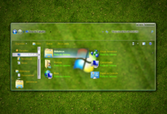 screenshot de Tema Full Glass para Windows 7