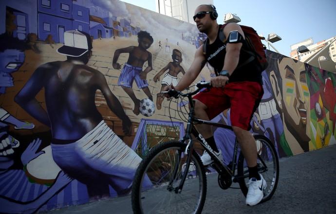 Bicicleta Rio de Janeiro (Foto: Agência Getty Images)