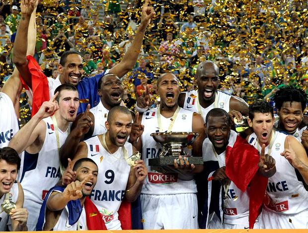 basquete frança campea europeia (Foto: Agência Reuters)