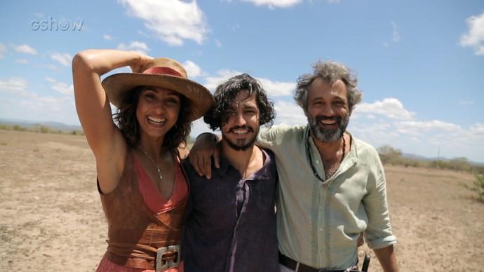 Camila Pitanga, Gabriel Leone e Domingos Montagner (Foto: Gshow)