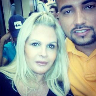 Monique Evans e o namorado (Foto: Instagram / Reprodução)